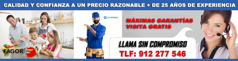 servicio tecnico fagor en madrid 912 277 546