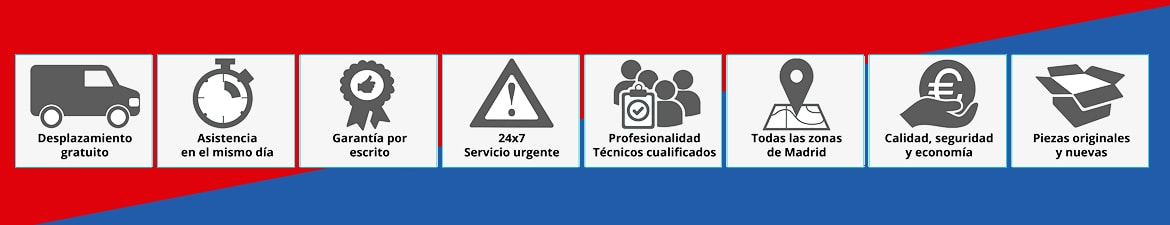 servicio tecnico Johnson madrid