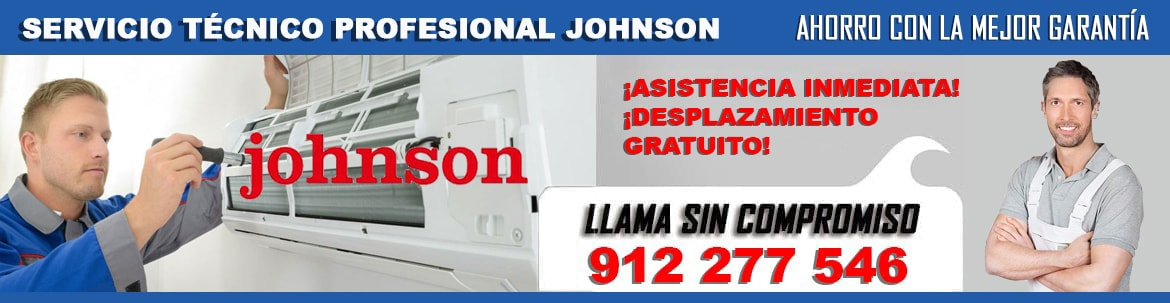 servicio tecnico Johnson en madrid